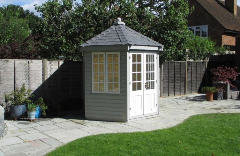 Two toned Wiveton Summerhouse - Farnham