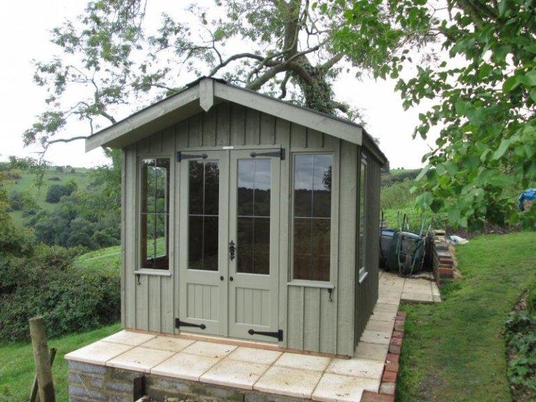 National Trust Ickworth Summerhouse - Langridge