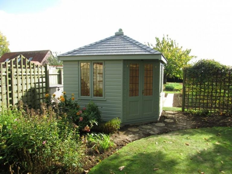 Weybourne Summerhouse with Leaded Windows - Bath