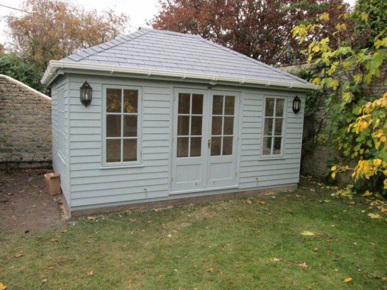 Garden Room with Weatherboard Cladding - Faringdon