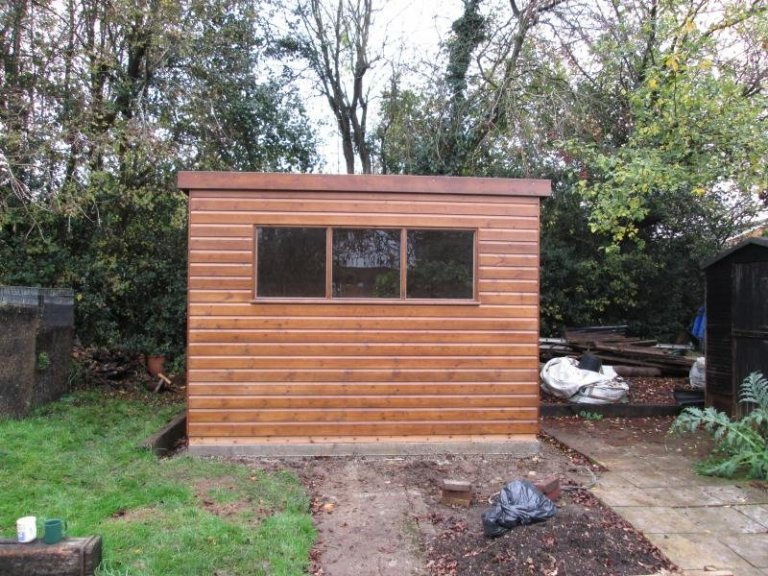 Superior Shed with Heavy Duty Floor - High Wycombe