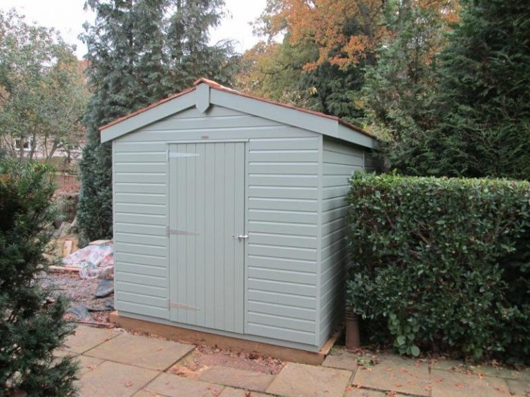 Superior Shed with a Workbench - Cranleigh