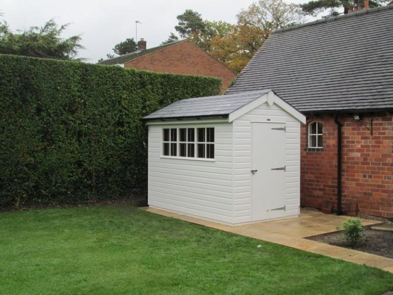 Superior Shed with Georgian Windows - Solihull