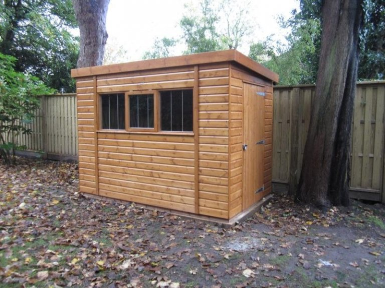 Superior Shed with an Opening Window - Wandsworth