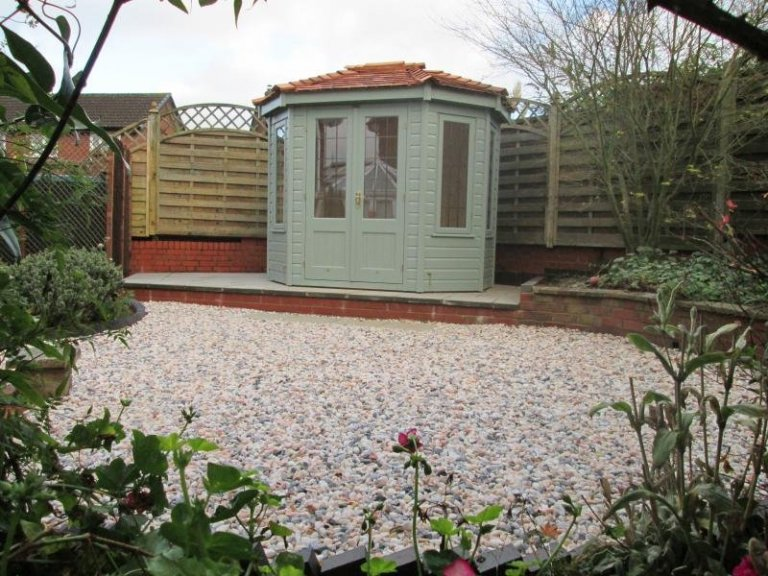 Wiveton Summerhouse with floor insulation - Daventry