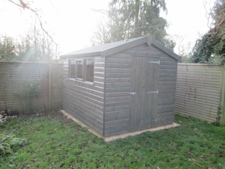 Superior Shed with Workbench - Headington