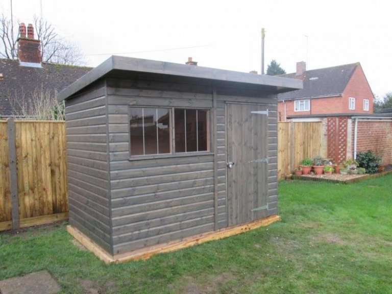 Superior Shed with Two Workbenches - East Grinstead