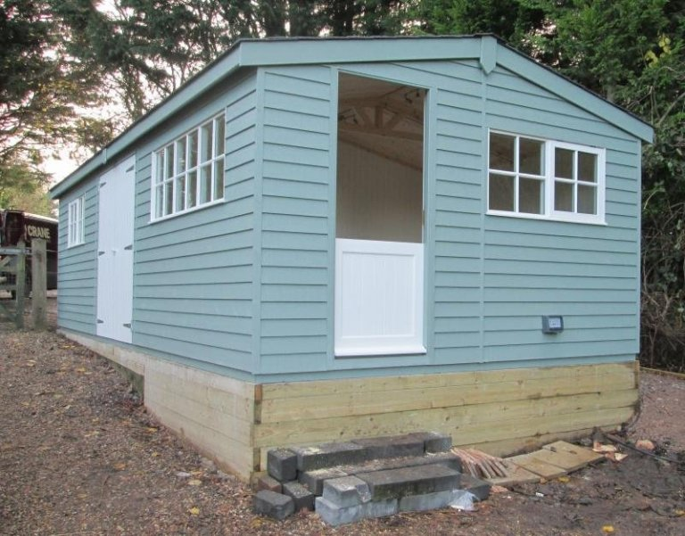 Superior Shed with Workshop/Office Partition - Inkpen