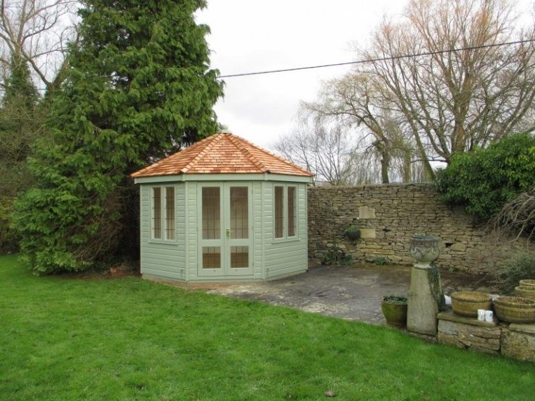 Wiveton Summerhouse with Extra Glazing - Burford