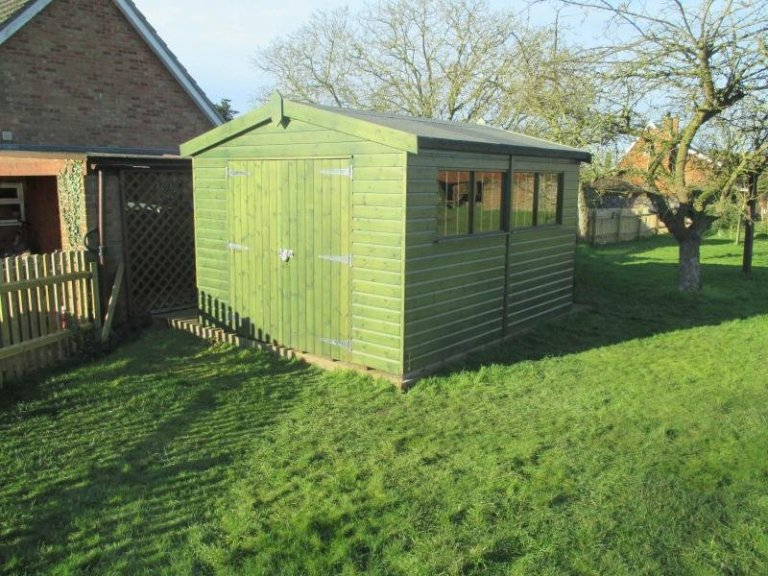 Superior Shed with Four Windows - Troston