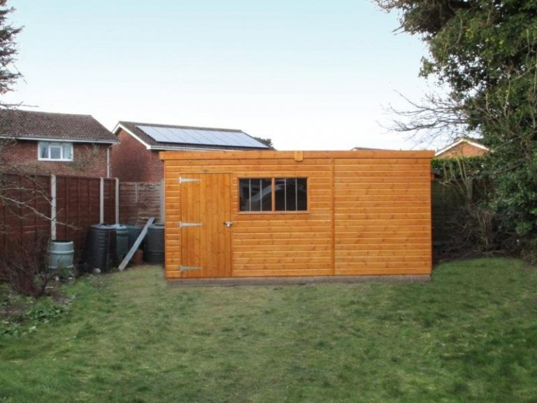 Superior Shed with Security Window Bars - Doncaster