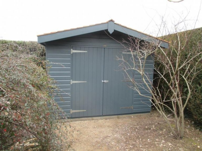 Superior Shed with Height Restriction - Chilworth