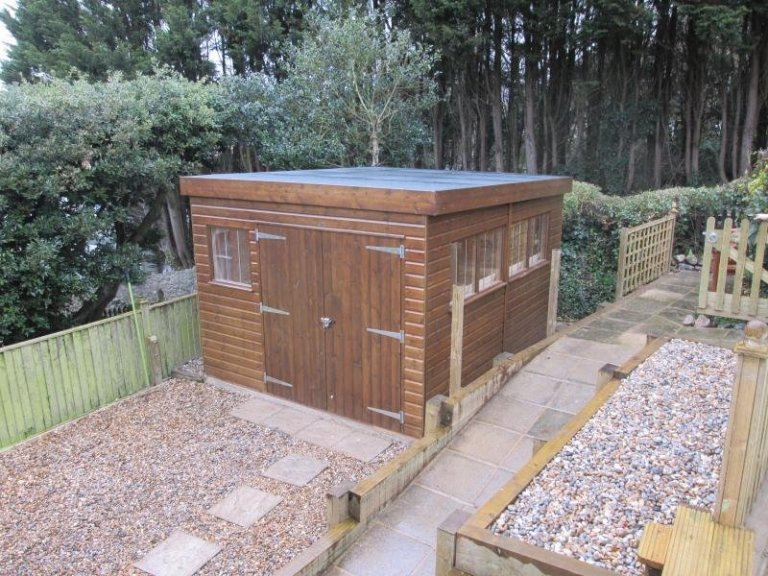 Superior Shed with Oak Faced Ply Lining - Hythe