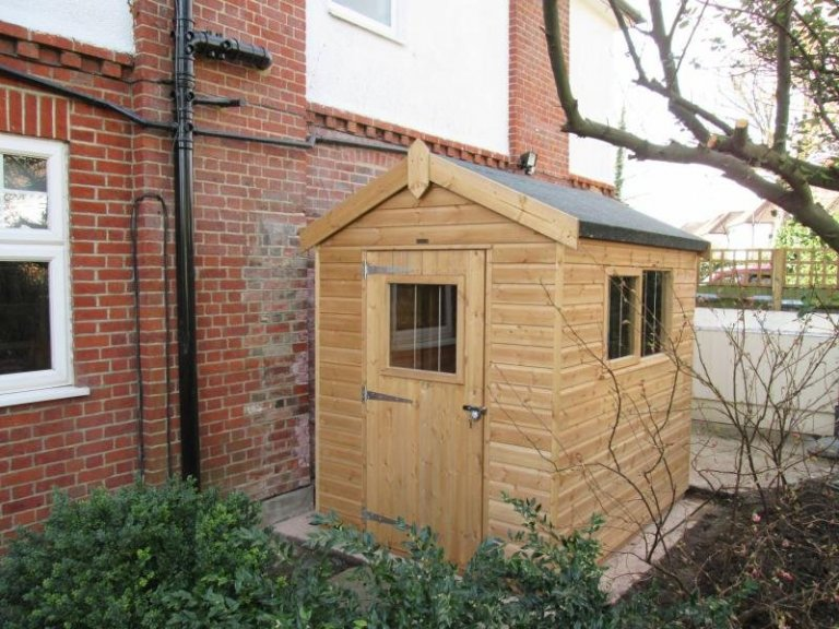 Superior Shed with Security Pack - New Malden