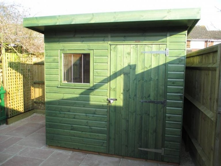 Superior Shed with Oak Faced Ply Lining - Winterbrook