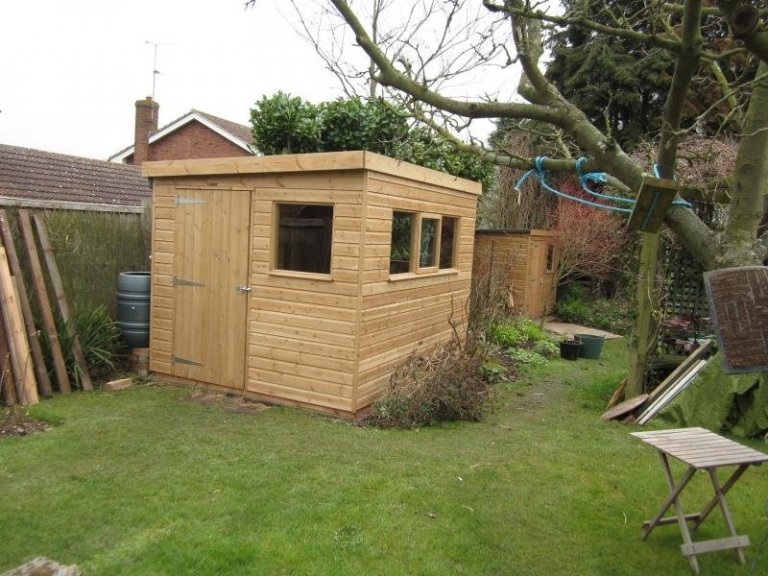 Superior Shed with a Workbench - Kinoulton