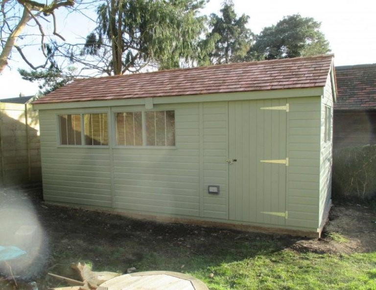 Superior Shed with an Electrical Pack - Netley