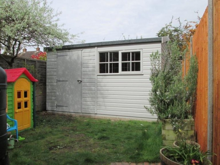 Superior Shed with Internal Height of 2m - Egham Hythe