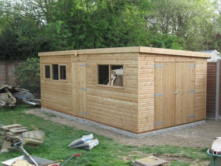 Superior Shed with Partition - South Holmwood