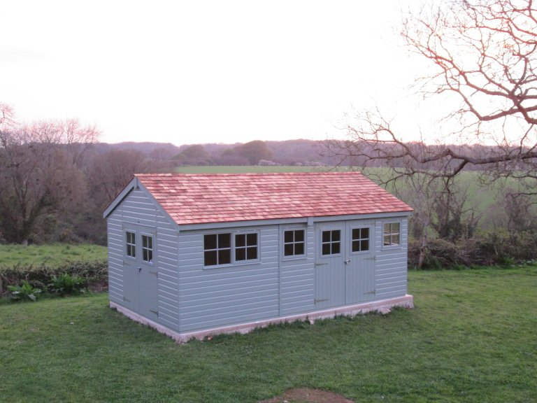 Superior Shed with Multiple Doors - Anglesey