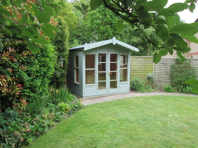 Blakeney Summerhouse in our Exterior Paint System - Bottisham