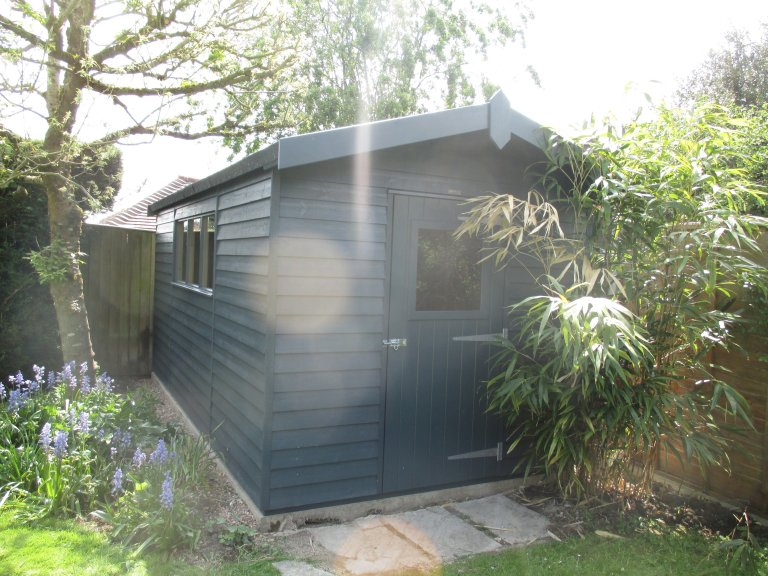 Superior Shed with Weatherboard Cladding - Manton