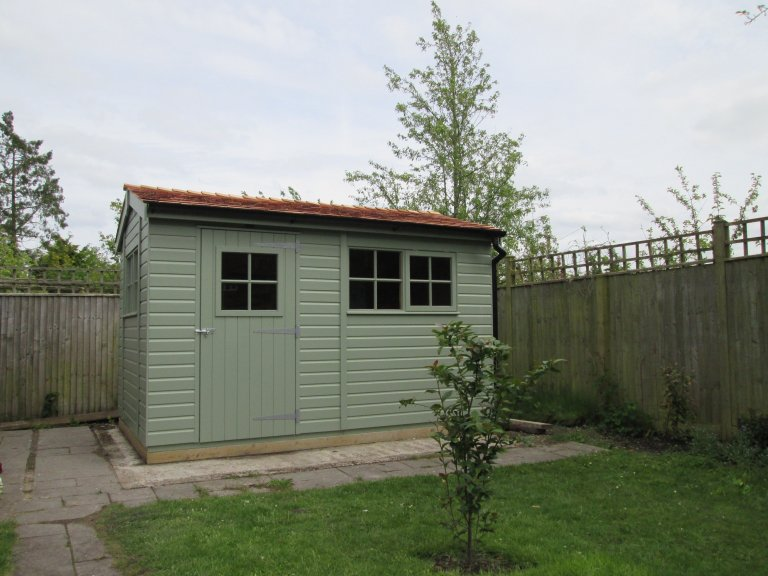 Superior Shed with Opaque Paint Finish - Kintbury