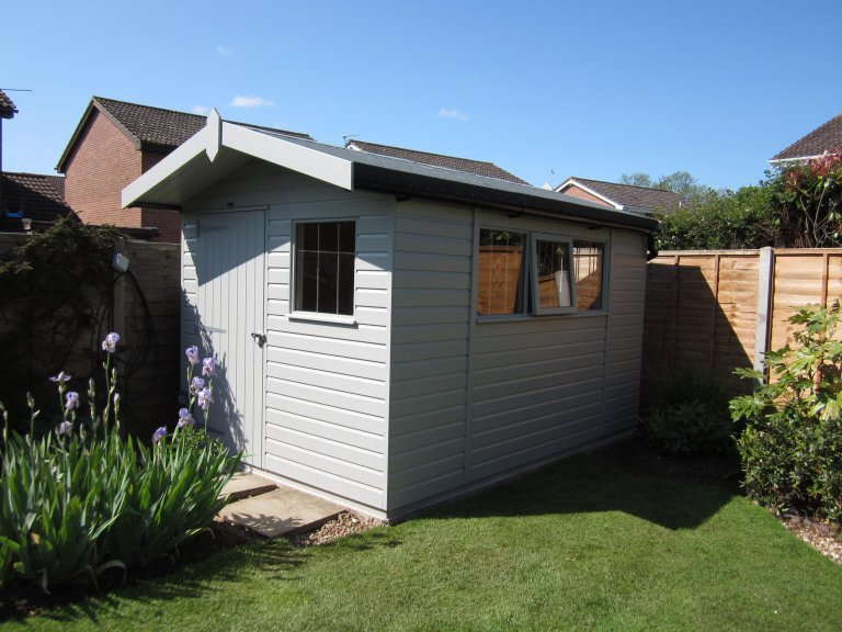 Superior Shed with Full Insulation - Melksham
