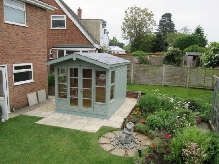 Blakeney Summerhouse with Storage Partition - Southmoor