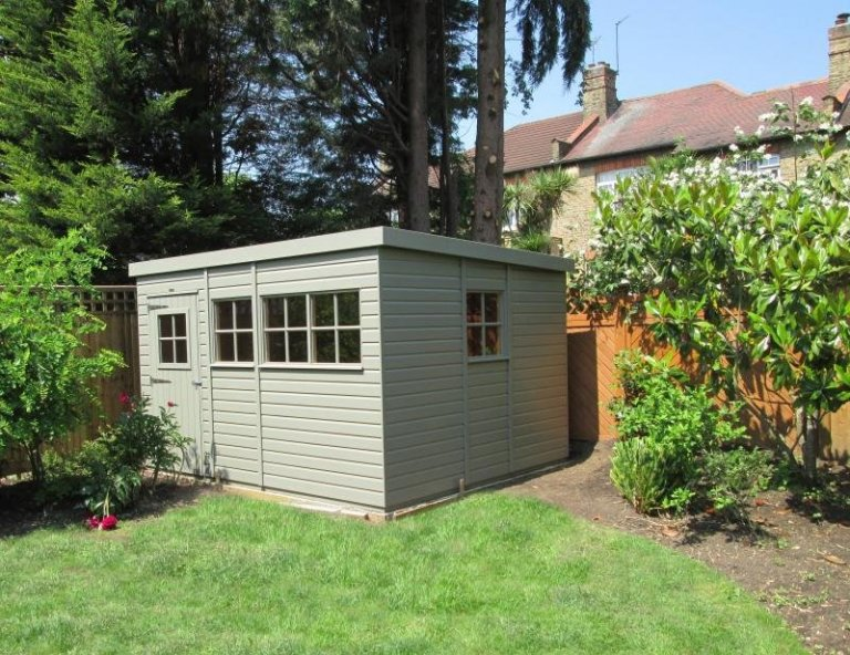 Superior Shed with Pent Roof - Ealing