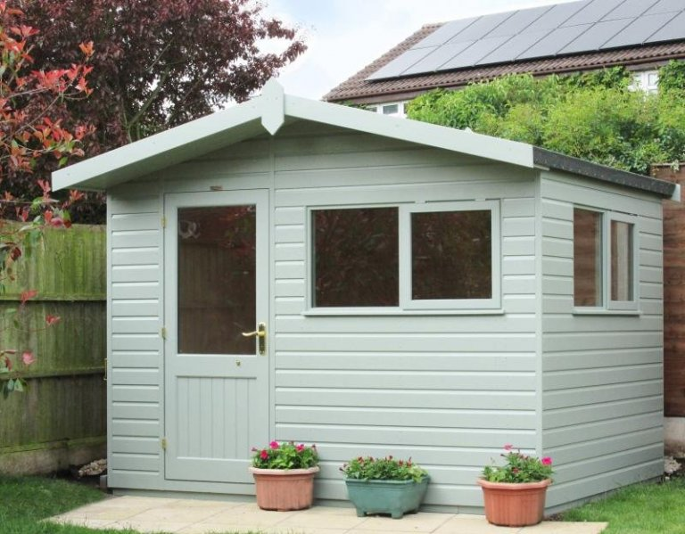 Superior Shed with Floor Insulation - Huddlesford