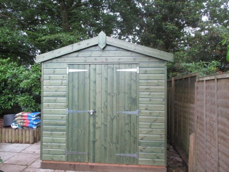 Superior Shed With Larger Than Standard Door - Waldron