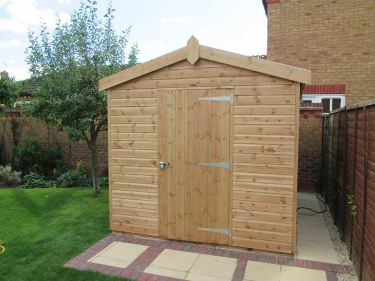 Superior Shed with lining and insulation - Wootton
