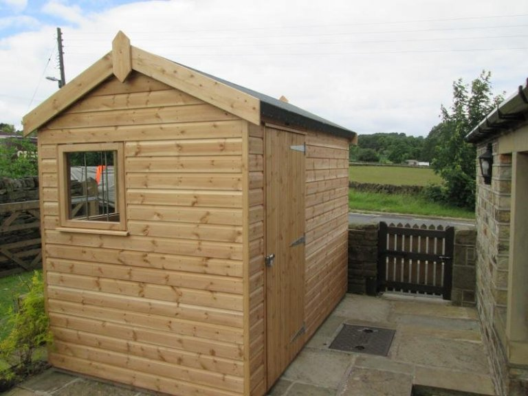 Superior Shed with Full Insulation - Thurstonland