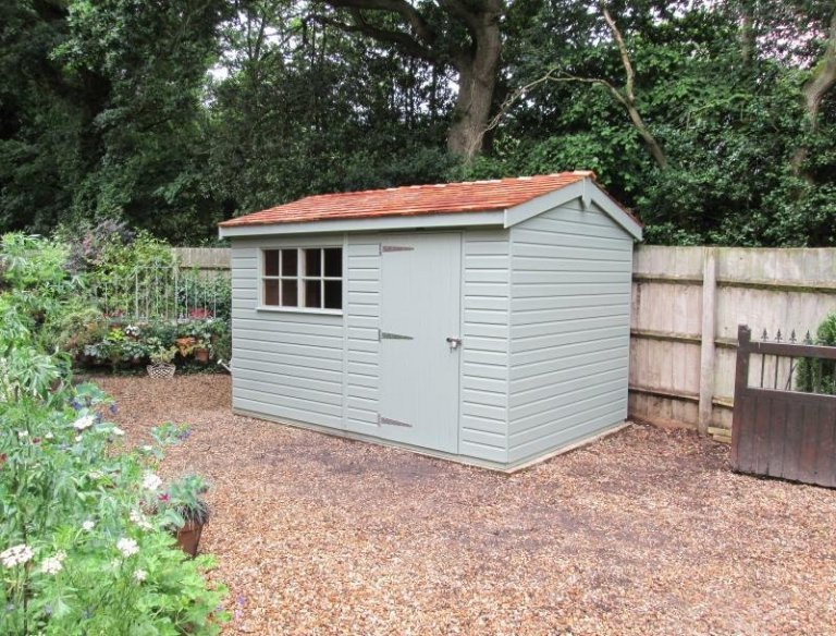 Superior Shed with Added Security - Cold Ash