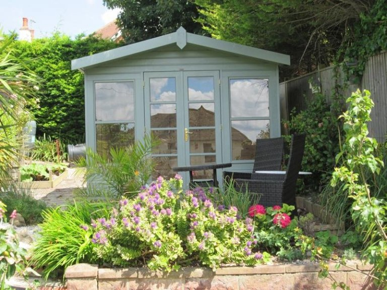 Blakeney Summerhouse with Roof Overhang - Eastbourne