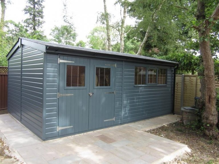 Large Superior Shed with Full Insulation - Eastleigh