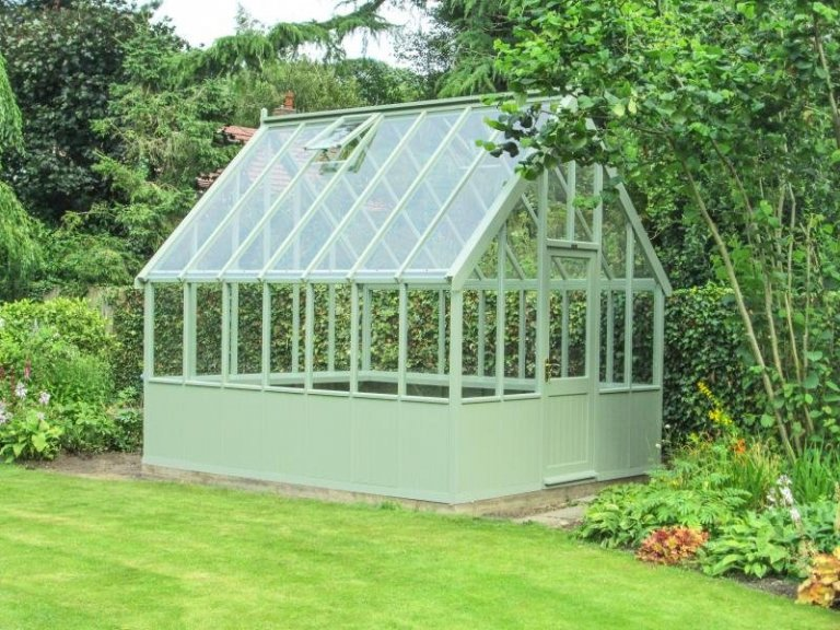 Large Timber Victoria Greenhouse - Loughborough