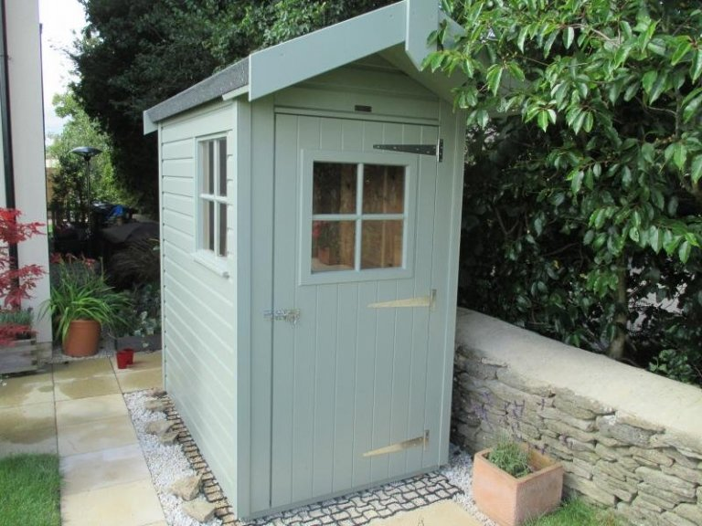 Small Superior Shed with Roof Overhang - Salisbury