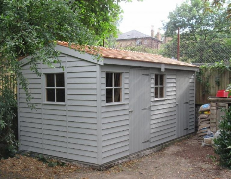 Large Superior Shed with a Partition - Camberwell