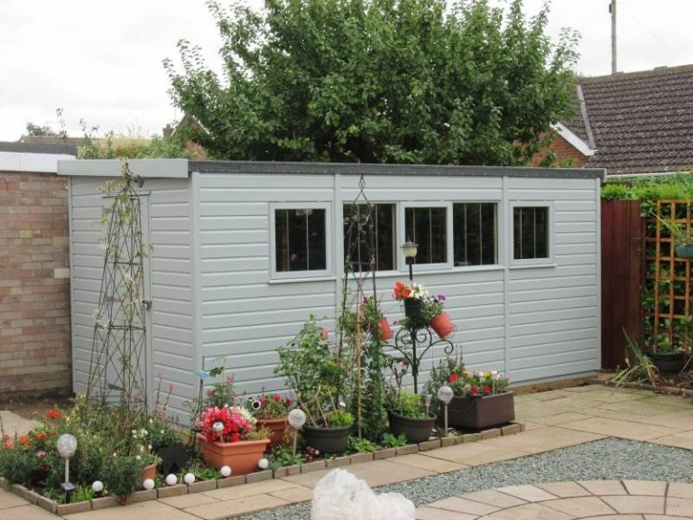 Superior Shed with Breathable Paper Lining - Ramsey
