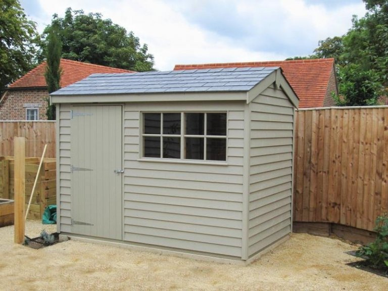 Superior Shed in Farrow & Ball Paint - Aston Upthorpe