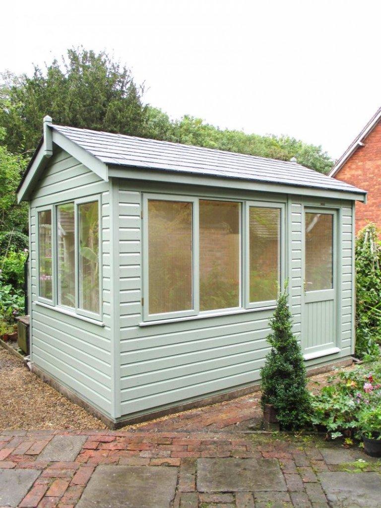 Langham Studio with Desk Height Windows - Rugeley