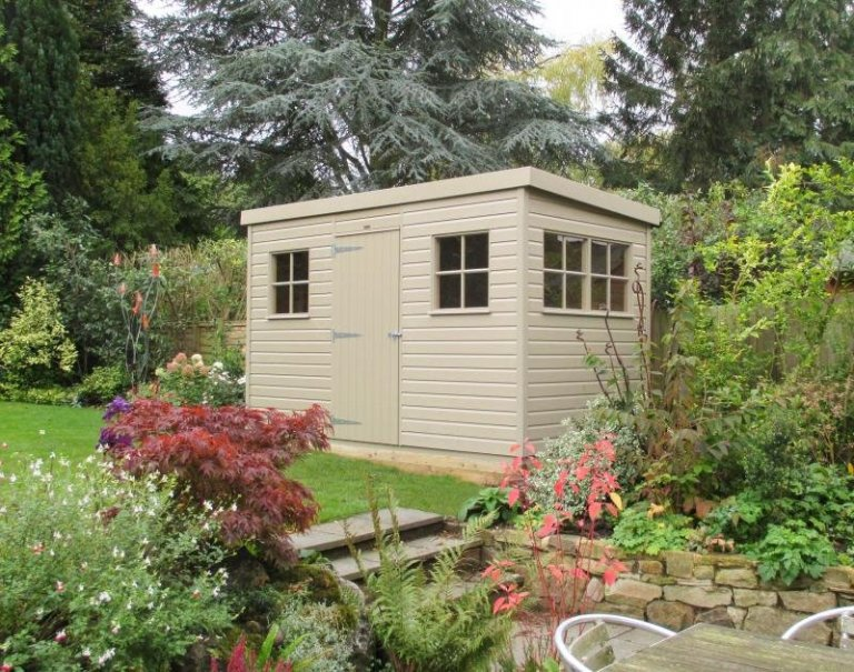 Superior Shed with a Pent Roof - Bookham