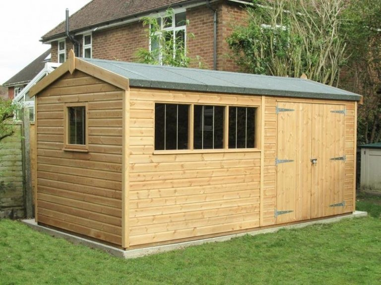 Superior Shed with a Workbench - Alton