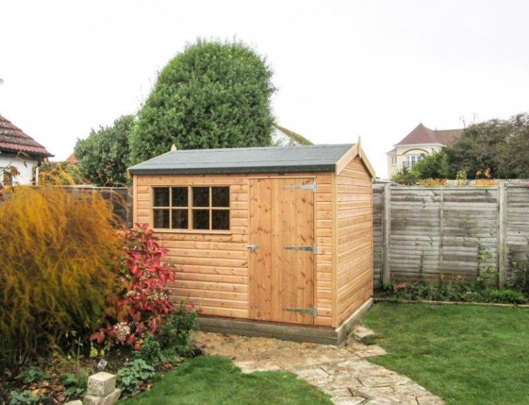 Superior Shed with a Height Restriction - Bognor Regis