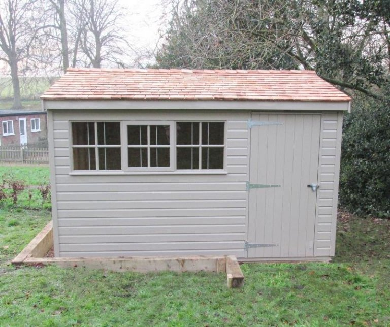 Superior Shed with Security Pack - Burnham Market