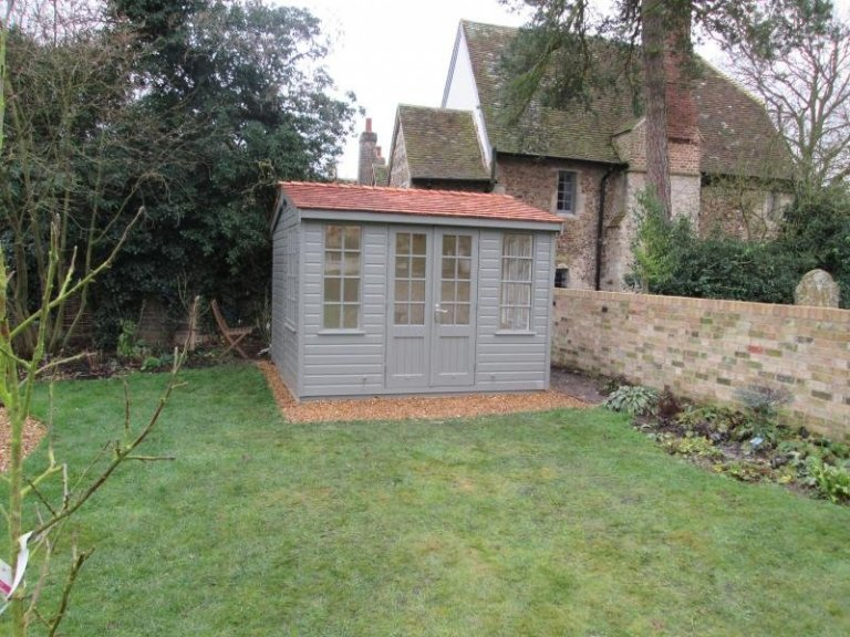 Holkham Summerhouse with Full Insulation - Comberton