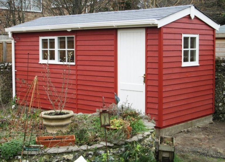 Colour Matched Superior Shed - Kingston