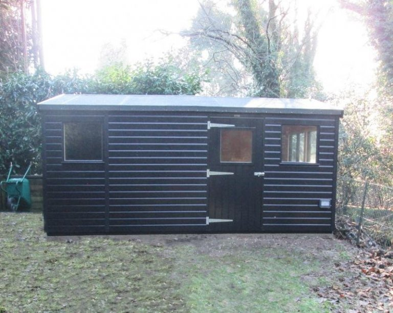 Large Superior Shed with Partition - Bramley
